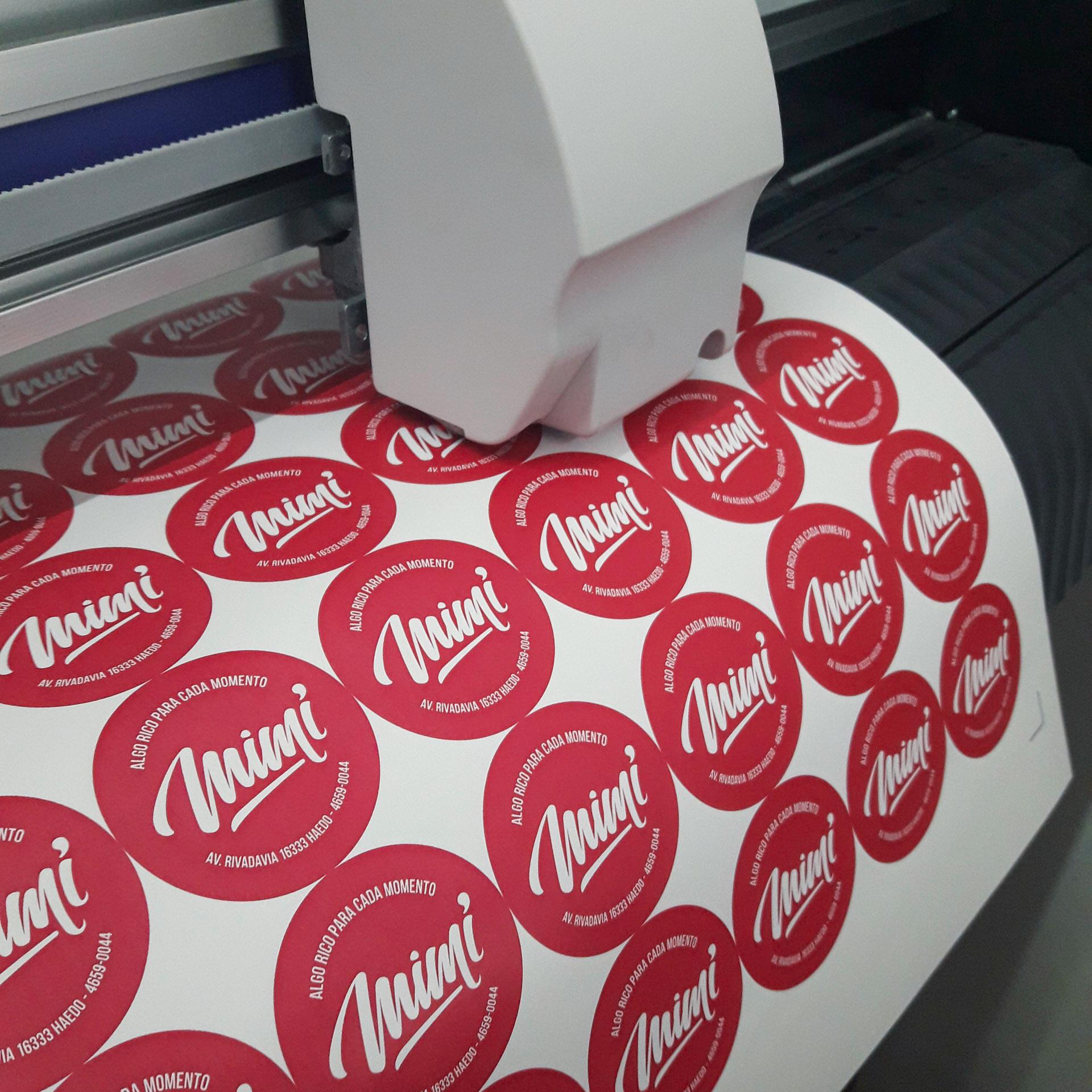 Stickers troquelados